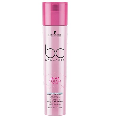 BC BONACURE COLOR FREEZE SILVER MICELLAR SHAMPOO 250ML
