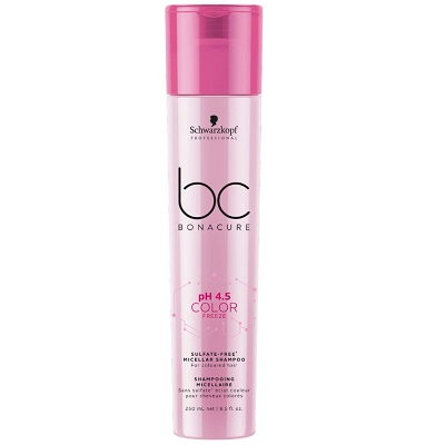 BC BONACURE COLOR FREEZE SULFATE FREE MICELLAR SHAMPOO 250ML 1