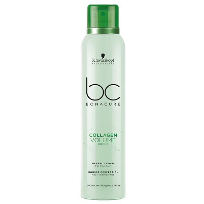 COLLAGEN BOOST PERFECT FOAM FOR FINE HAIR 200ML