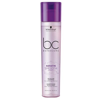 bc BONACURE KERATIN SMOOTH PERFEFT MICELLAR SHAMPOO 250ML