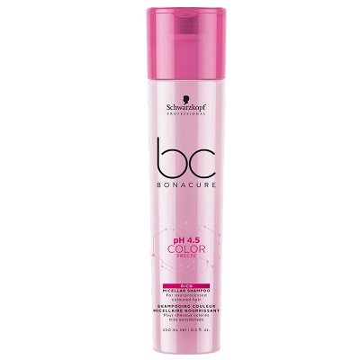 BC BONACURE COLOR FREEZE RICH MICELLAR SHAMPOO 250ML