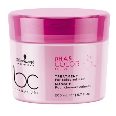 BC BONACURE COLOR FREEZE TREATMENT FOR COLOURED HAIR 200ML 1