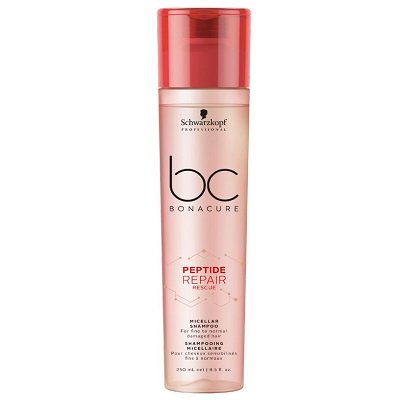 BC BONACURE PEPTIDE REPAIR RESCUE MICELLAR SHAMPOO FINE TO NORMAL DAMAGED HAIR 250ML