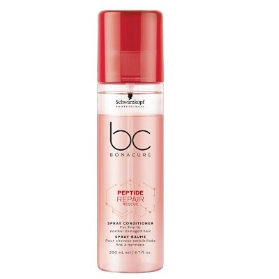 BC BONACURE PEPTIDE REPAIR SPRAY CONDITIONER FOR FINE TO NORMAL HAIR 200ML